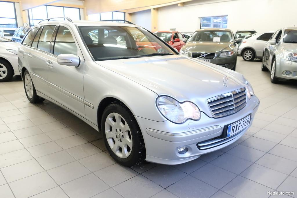 Mercedes-Benz C, 180 Kompressor Elegance T A Jopa ilman käsirahaa!