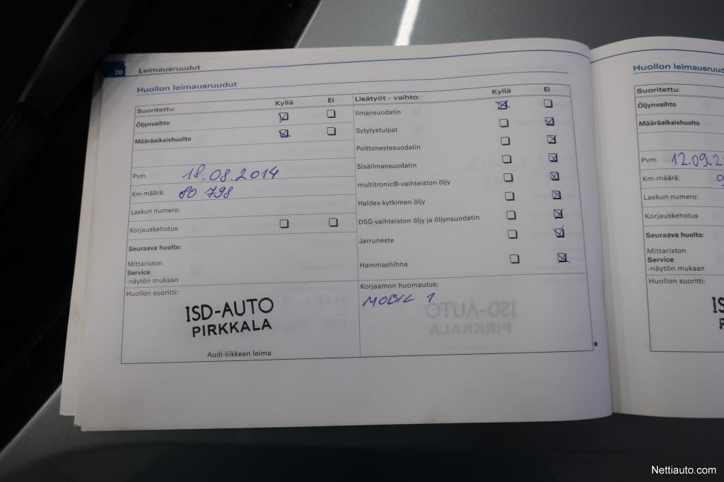 Audi A4, 1.8T Avant Sport Edition Quattro Jopa ilman käsirahaa!