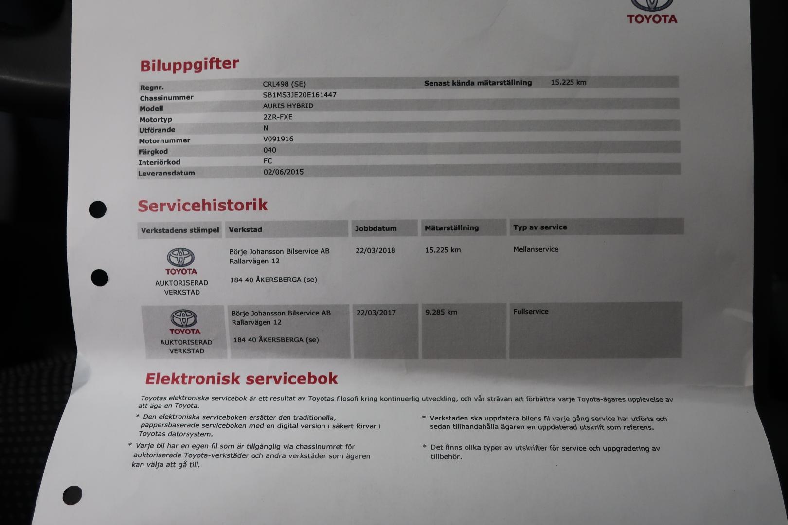 Toyota Auris, 1.8 HSD Active Edition Jopa ilman käsirahaa!