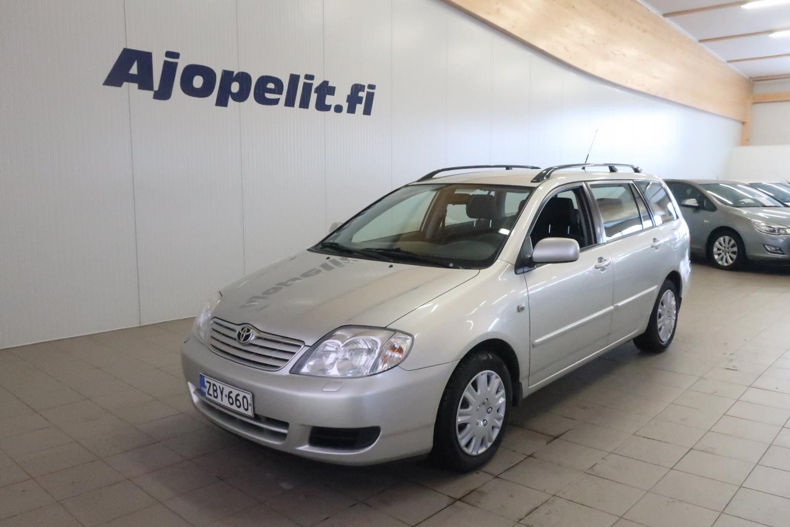 Toyota Corolla, 1.6 VVT-i Terra Wagon #Jopa ilman käsirahaa! Aina sopivalla kuukausierällä!