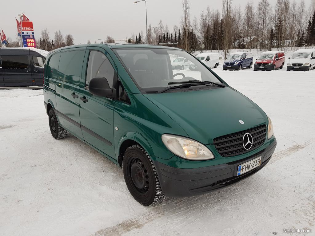 Mercedes-Benz Vito, 115CDI AUTOMAATTI VETOKOUKKU WEBASTO ILMASTOINTI