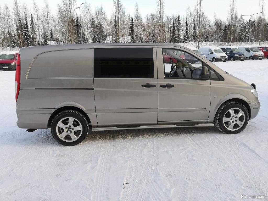 Mercedes-Benz Vito, 120CDI 204HV AUTOMAATTI EBERI 2X ALUT SIS 24% ALV