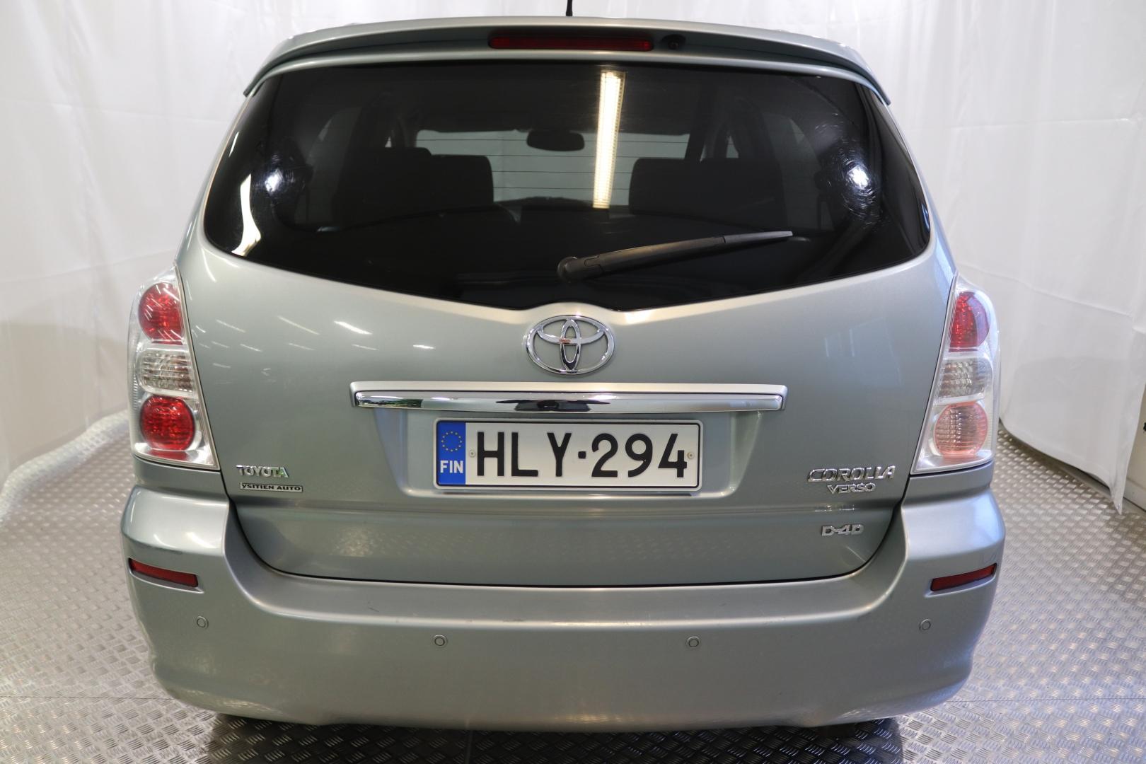 Toyota Corolla Verso, 2,2 D-4D 136 Clean Power Sol Plus 7p
