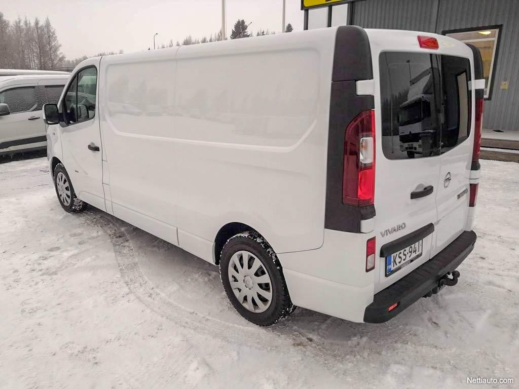 Opel Vivaro, L2H1 1.6TDCI Bi TURBO 145HV PARIOVET EBERI VETOKOUKKU SIS 24% ALV