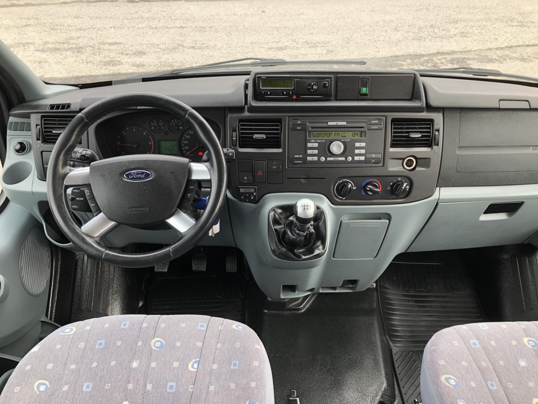 Ford Transit, 350L 140HV 8-HENGEN KEVYT K-A *LECTICA* ILMASTOINTI VETOKOUKKU SIS 24% ALV
