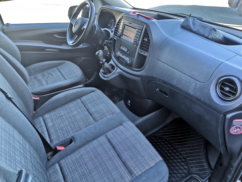 Mercedes-Benz Vito, 116CDI PARIOVET ILMASTOINTI SIS 24%ALV