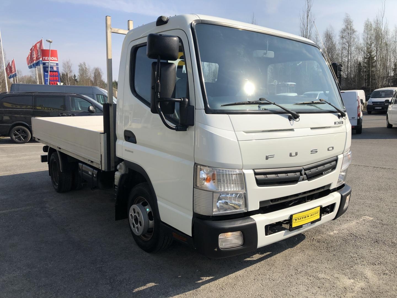 Mitsubishi Canter, FUSO 3C13 3.0TD B-KORTILLINEN AUTOMAATTI ILMASTOINTI WEBASTO SIS 24%ALV