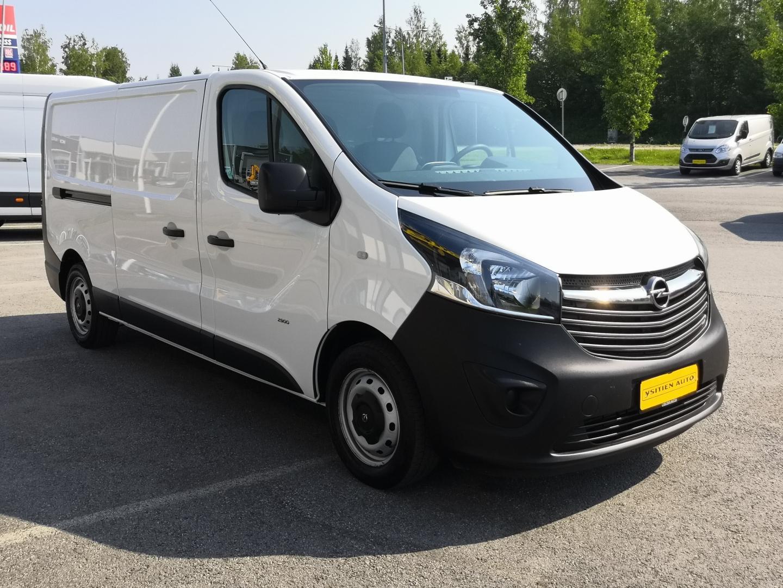 Opel Vivaro, 1.6 CDTI L2H1 120HV PITKÄ MALLI 2X LIUKUOVET PARIOVET VETOKOUKKU  SIS 24% ALV