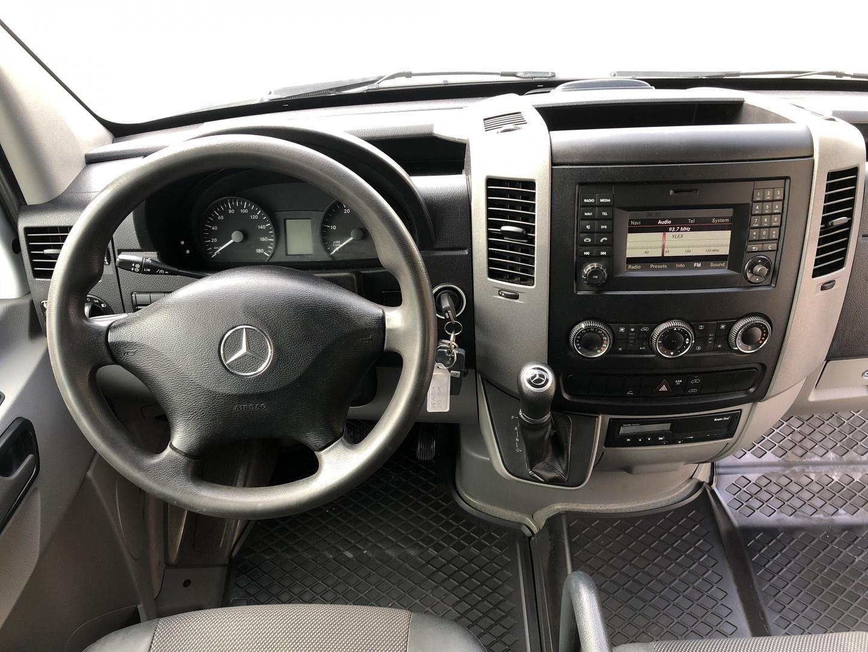 Mercedes-Benz Sprinter, 316CDI AUTOMAATTI 3+3 KEVYT K-A ILMASTOINTI VETOKOUKKU VAKKARI SIS 24% ALV