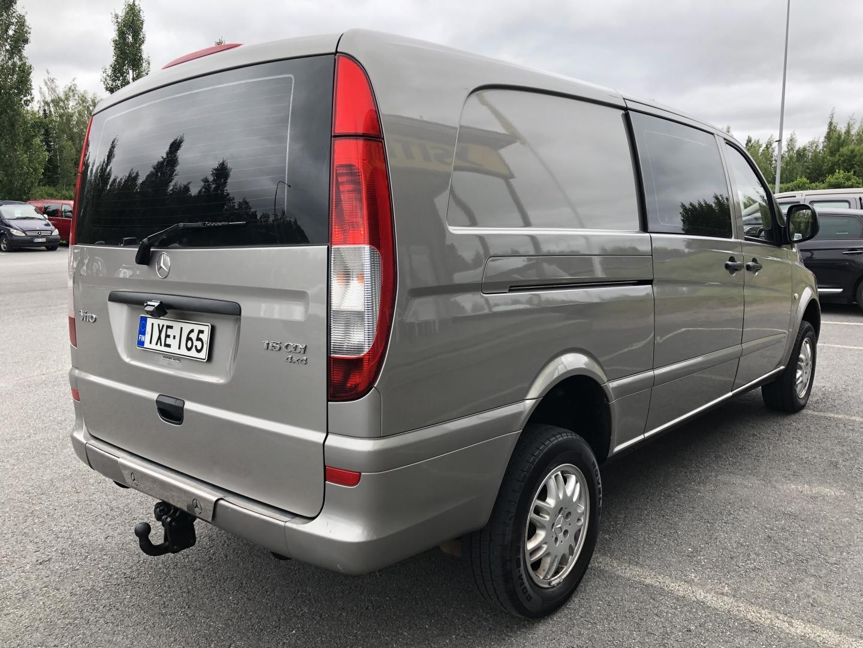 Mercedes-Benz Vito, 115 CDI 4X4 PITKÄ A3 AUTOMAATTI ILMASTOINTI VETOKOUKKU WEBASTO