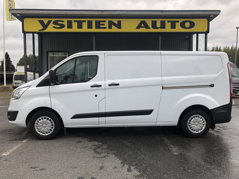 Ford Transit Custom, 2.2TDCI L2H1 SORTIMON HYLLYT JA RUUVIPENKKI! WEBASTO VETOKOUKKU SIS 24% ALV