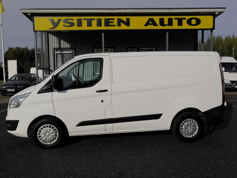 Ford Transit Custom, 2.2TDCi 125HV L1H1 WEBASTO INVENTTERI PARIOVET SIS 24% ALV