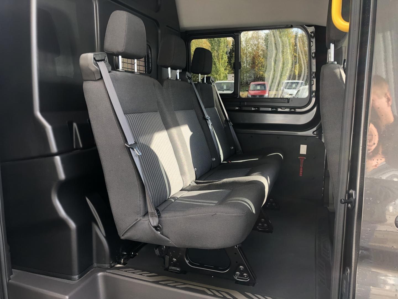 Ford Transit, L4H3 170HV 2+3 KEVYT K-A NAVI VAKKARI VETOKOUKKU ILMASTOINTI HINTA SIS 24% ALV