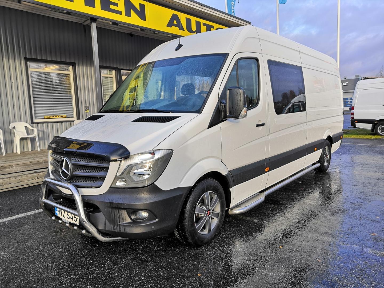 Mercedes-Benz Sprinter, 314 CDI 7G-TRONIC AUTOMAATTI 2+4 HENK. MATKAILUAUTO B-KORTILLINEN *TAKUU VOIMASSA* SIS 24% ALV