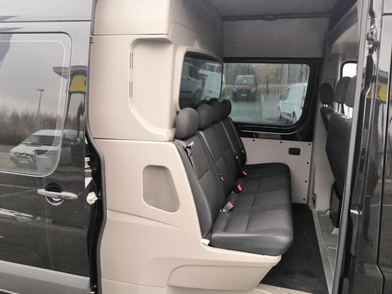 Mercedes-Benz Sprinter, 319CDI KEVYT K-A *7HENKILÖÄ JA 3,8M TAVARATILAA* WEBASTO VAKKARI VETOKOUKKU ILMASTOINTI SIS 24% ALV