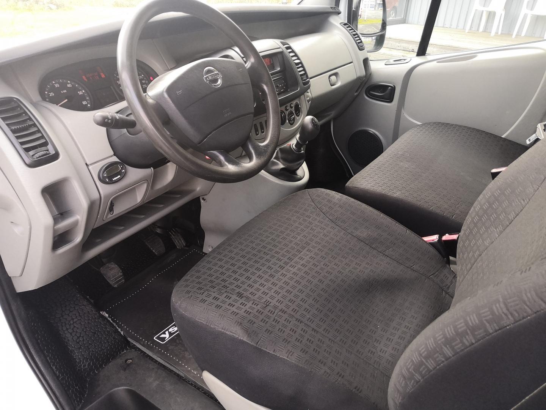 Nissan Primastar, 2.5 DCI 146HV L2H1 PARIOVET WEBASTO VETOKOUKKU SIS 24% ALV