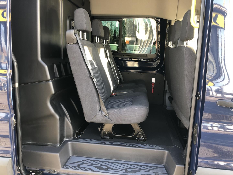 Ford Transit, 2.0TDCI 170HV 3+3 KEVYT K-A WEBASTO INVERTTERI TUTKAT KAMERA VETOKOUKKU VAKKARI SIS 24% ALV