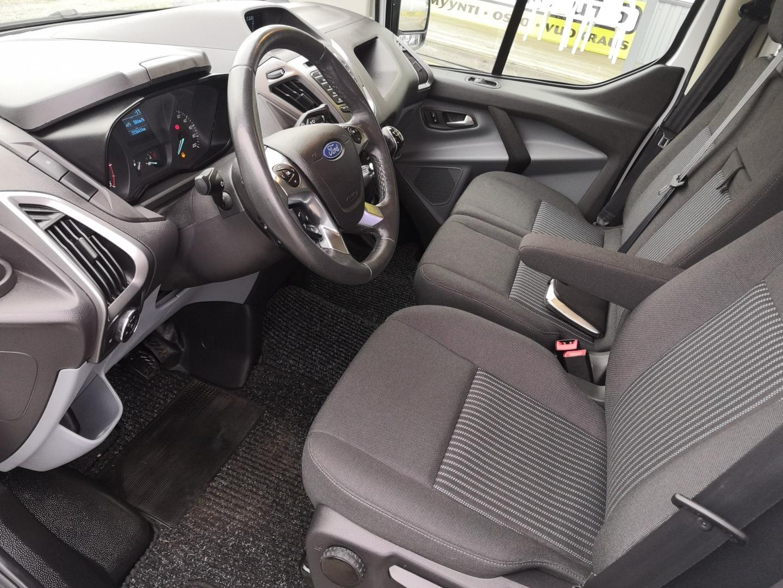 Ford Transit Custom, 2.2TDCi 125HV L2H1 HYVIN VARUSTELTU! HYLLYT INVERTTERI WEBASTO VETOKOUKKU SIS 24% ALV
