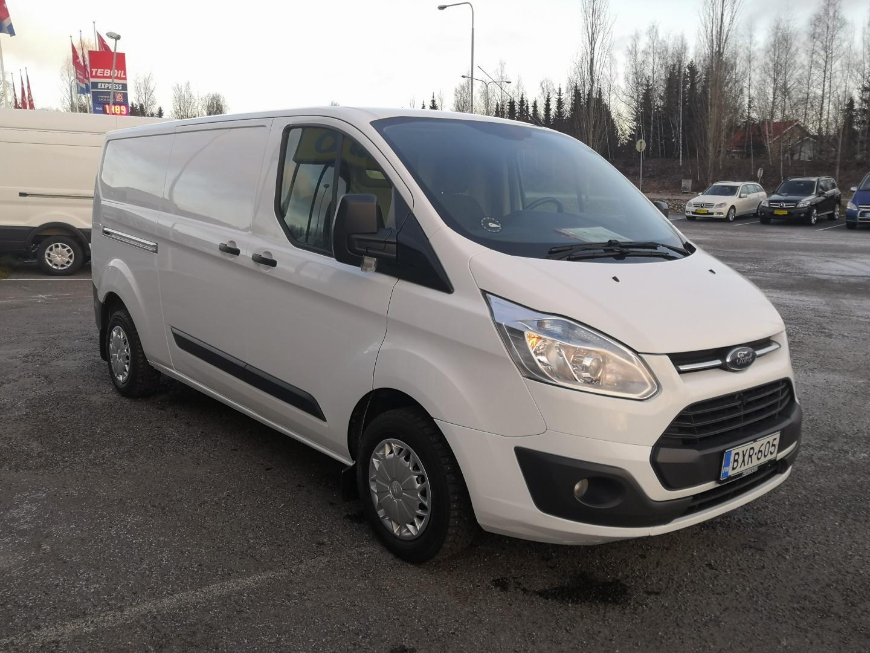 Ford Transit Custom, L2H1 TREND 2.2TDCi 125HV 2XLIUKUOVET WEBASTO VAKKARI SIS 24% ALV