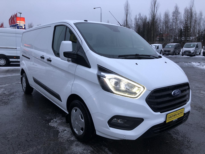 Ford Transit Custom, L2H1 2.0TDCi 130HV TREND WEBASTO VETOKOUKKU TUTKAT SIS 24% ALV