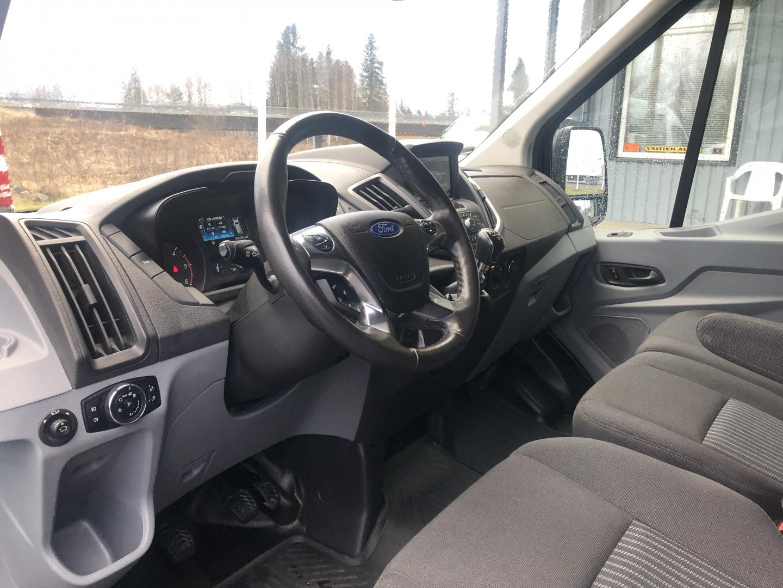 Ford Transit, 2.0TDCI 170HV 3+3 KEVYT K-A EBER INVERTTERI NAVI TUTKAT KAMERA VETOKOUKKU VAKKARI SIS 24% ALV